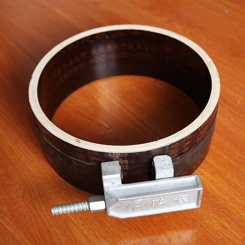 定型圆柱木模板 D600mm~D1200mm木塑清水