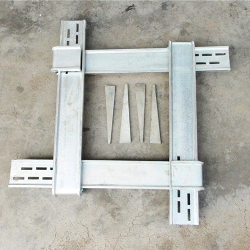 新型方圆方柱扣 可调节加固柱子模板