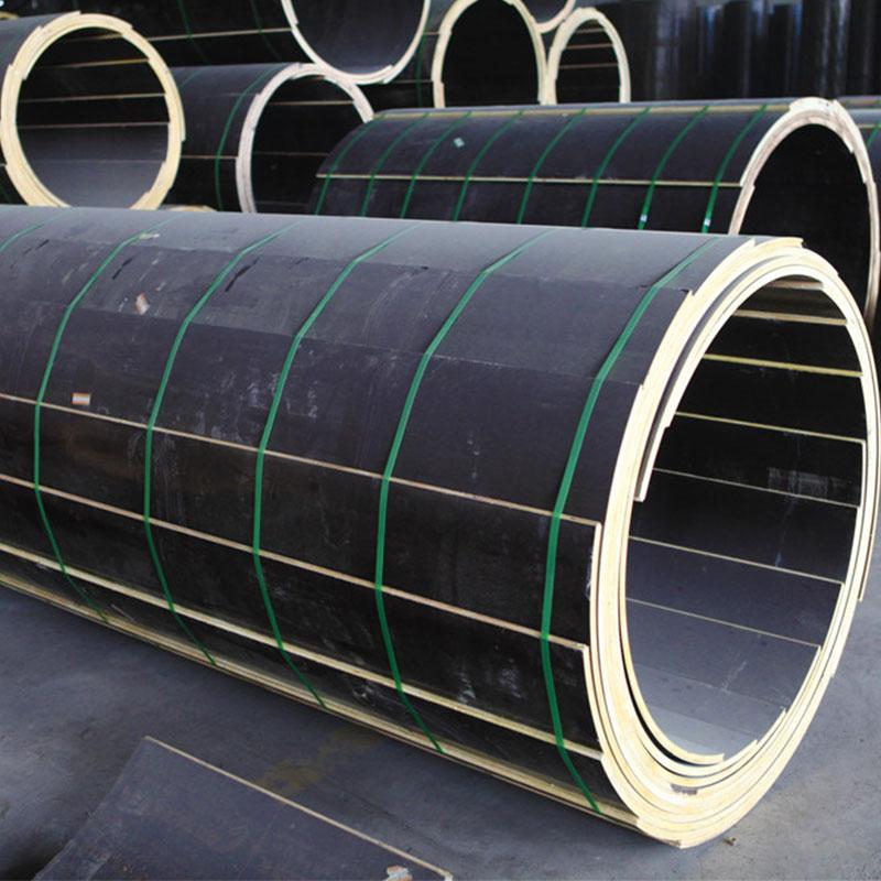 建筑圆模板 木制大直径圆柱覆塑模板