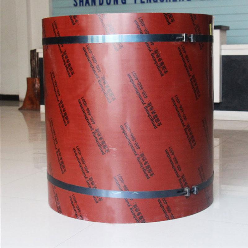 直径250~4200mm圆柱木模板 凹凸槽设计清