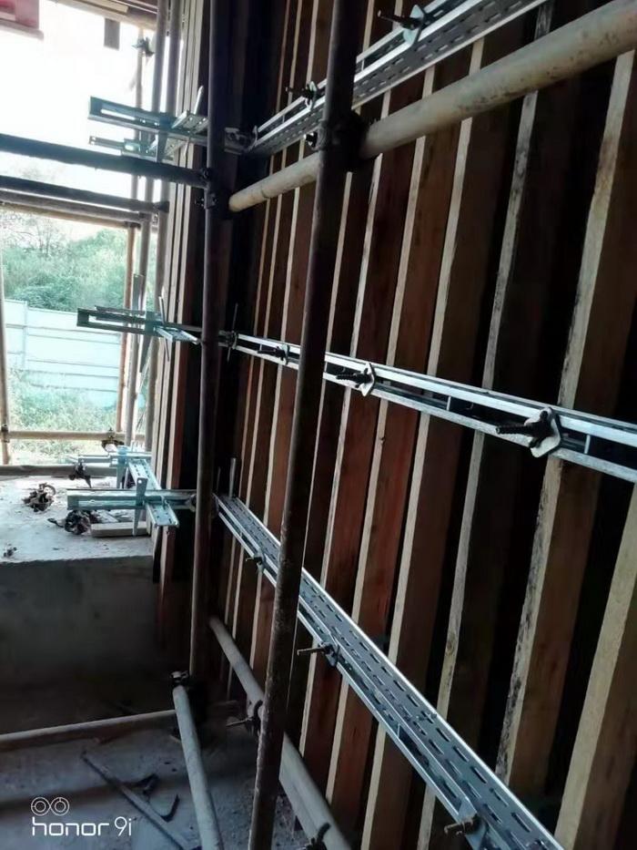 开封剪力墙模板支撑系统