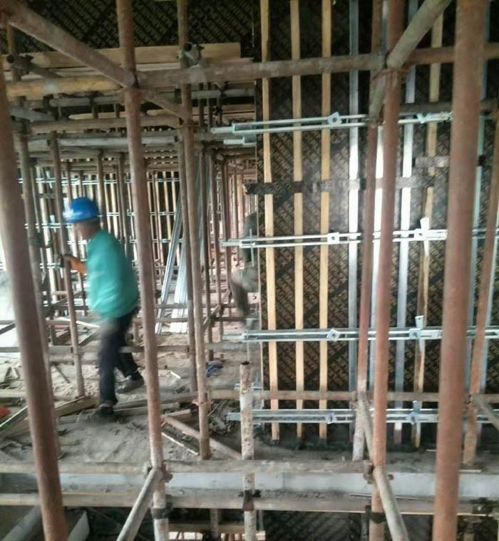安庆工地剪力墙加固件