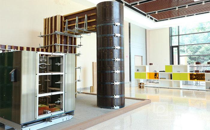 圆柱子模板厂家产品展厅