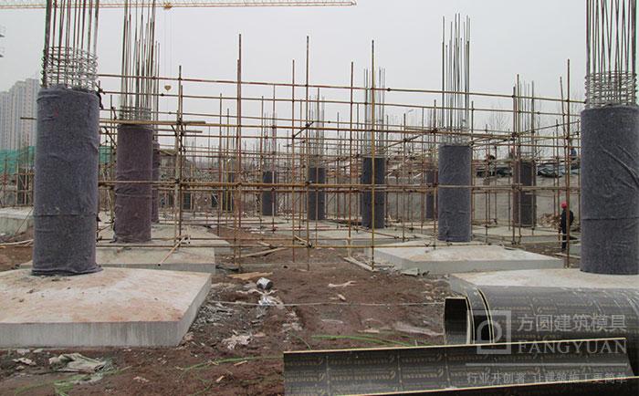 建筑圆模板工程建筑施工