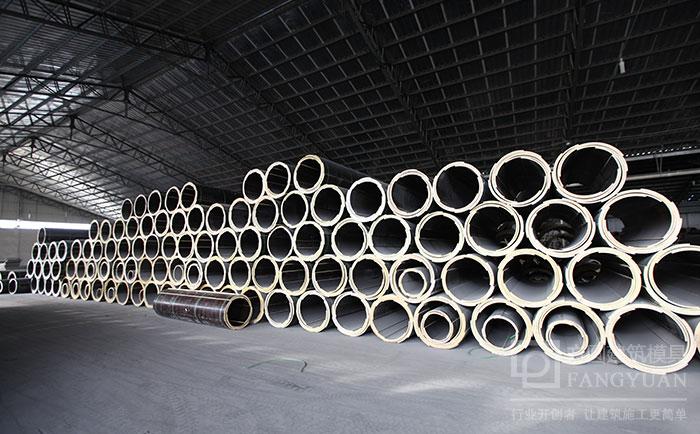 定型圆柱木模板厂家仓储