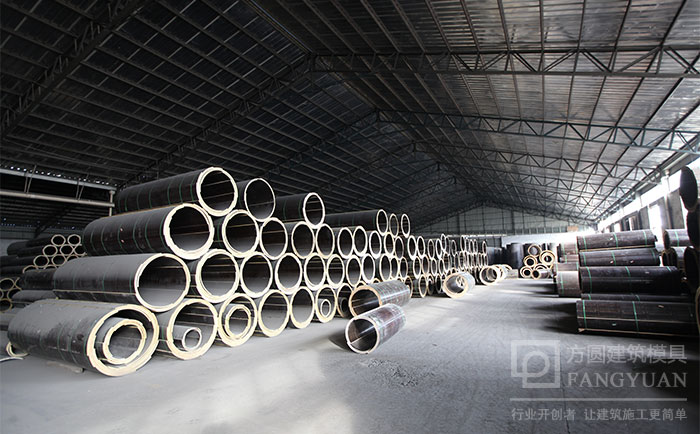 圆柱木模板厂家仓储