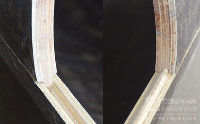 圆柱墩柱木模板凹凸槽不跑浆
