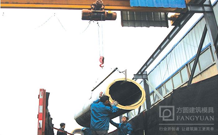 圆柱木模板吊运装卸