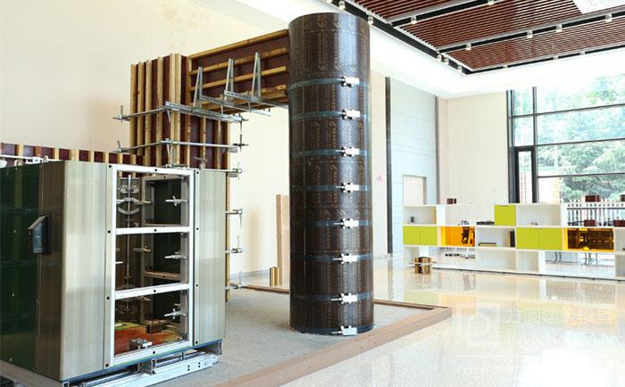 圆柱建筑模板厂家展厅