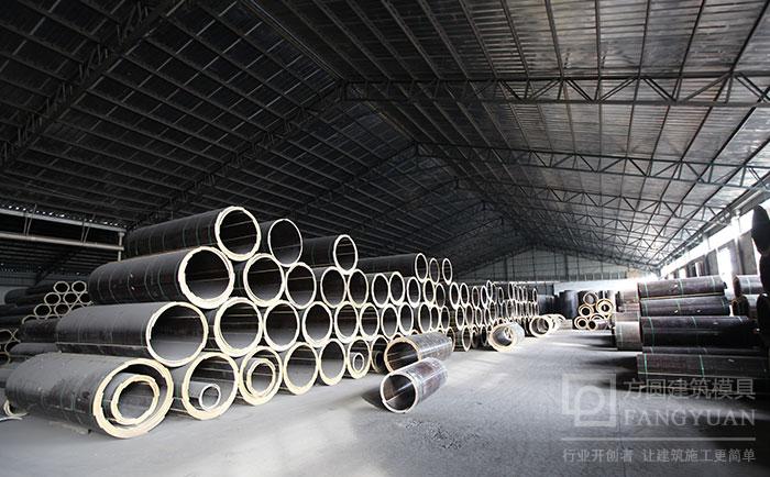 木质建筑圆柱模板