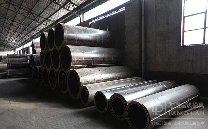 木质圆柱模板