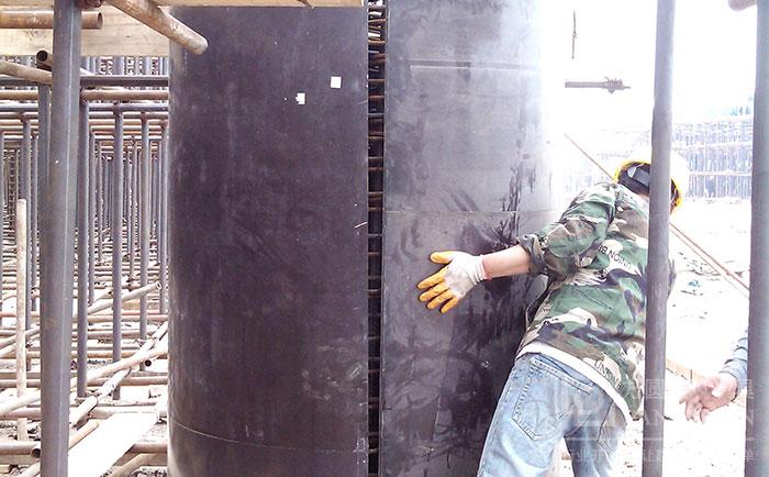 圆柱模板重量轻人工可搬动施工