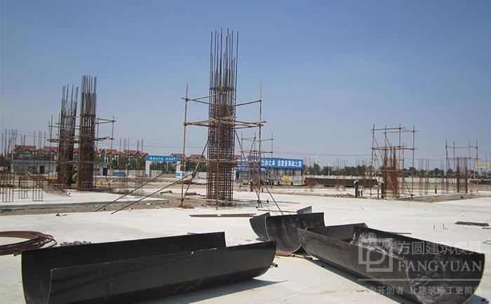 木质圆柱墩模板拆模及工地存放