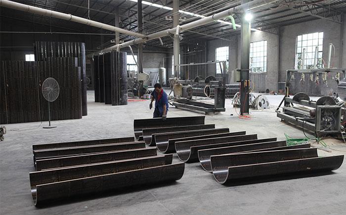 木制建筑圆模板加工生产
