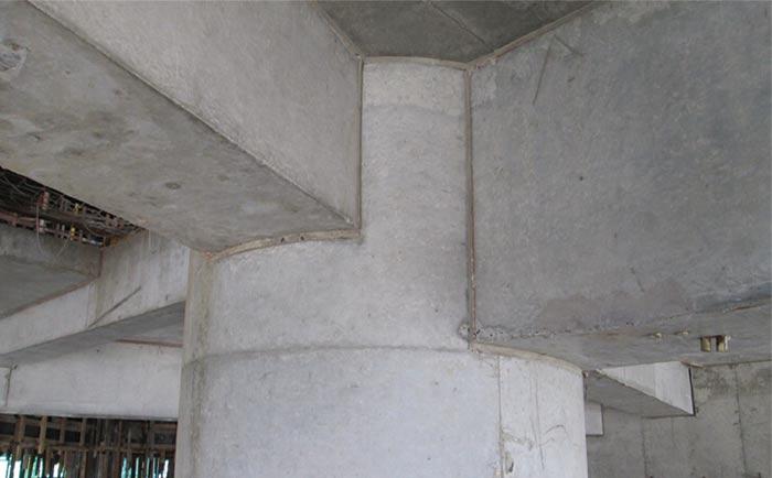 混凝土脱模成型
