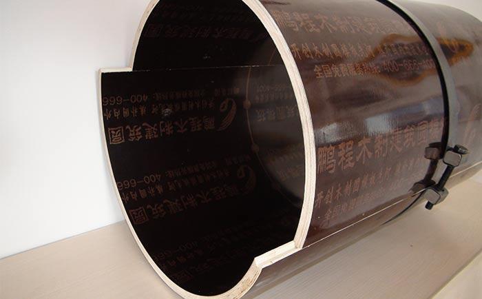 水泥圆柱木模具