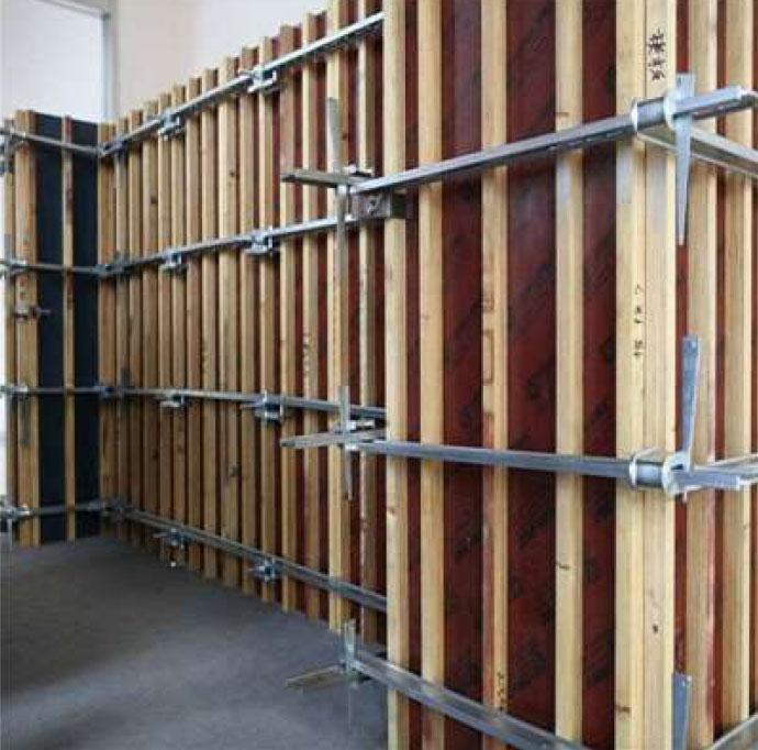 剪力墙模板支撑体系