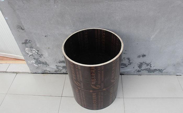木制圆形柱子模板