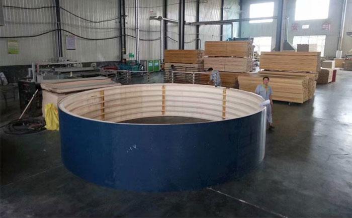 大直径圆形建筑模板