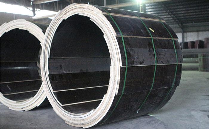 木制圆柱木模板