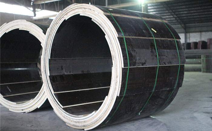 直径900的圆柱木模板
