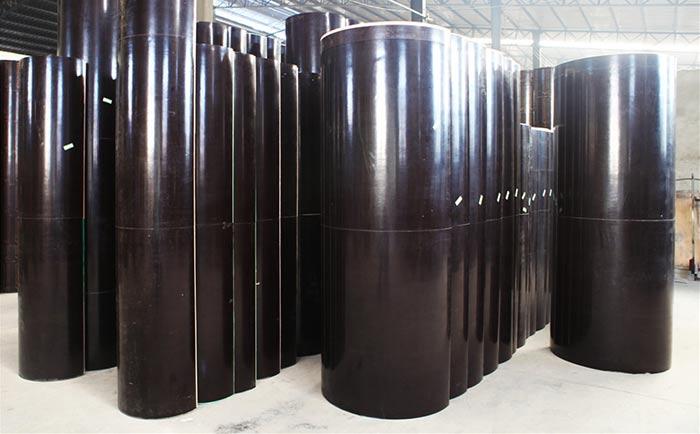 混凝土圆柱子木模具