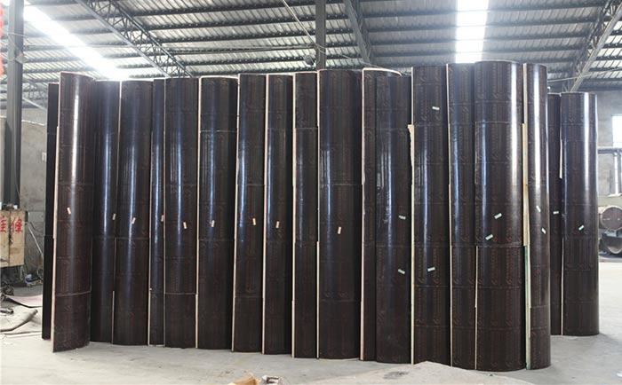 常规3米高度的圆形柱模具