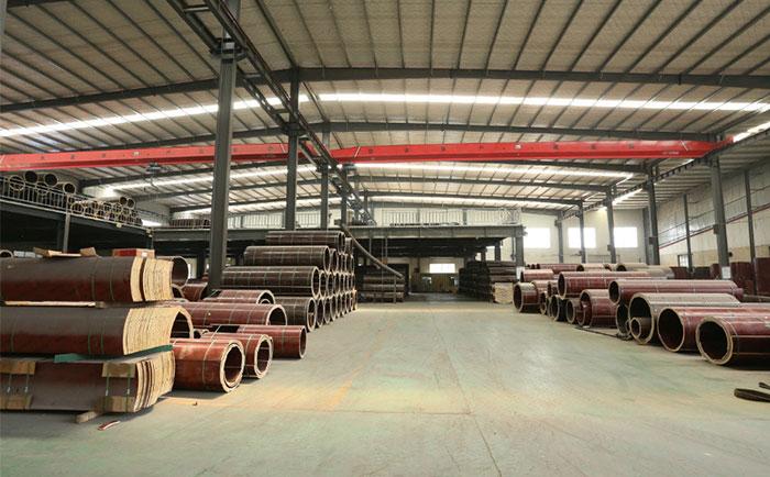 木制圆柱子模板厂家仓储