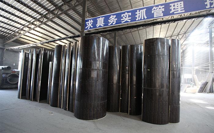 商洛建筑圆柱模板