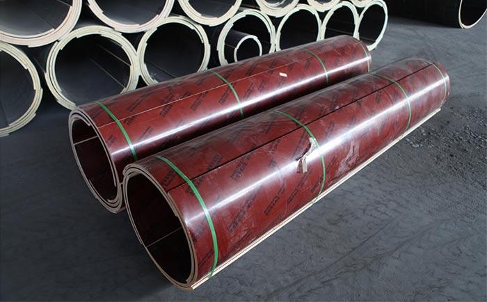 优质木质圆柱模板