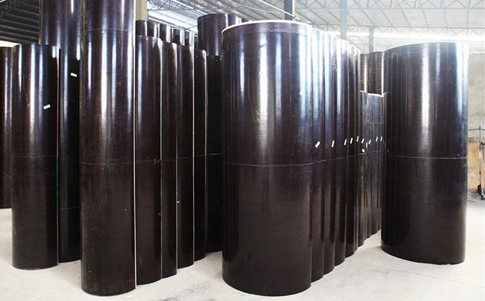 日喀则木制圆柱模板制作