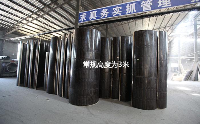 圆柱木模板厂家