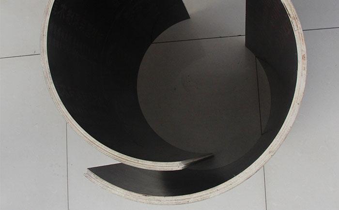 方圆新型木质圆模板由多片组成
