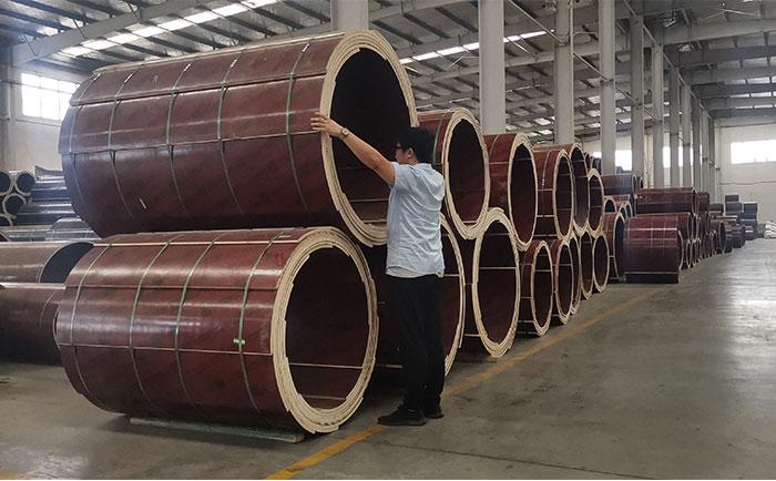 自贡木质圆柱模板