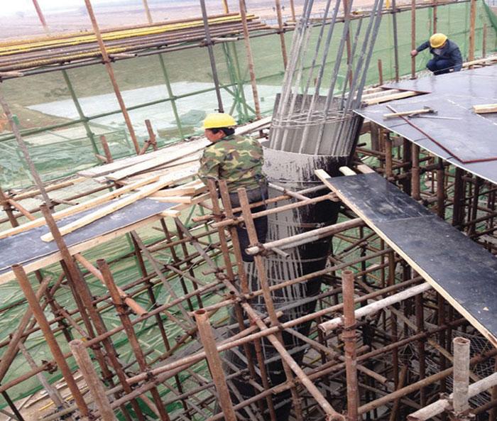 圆柱子模板现浇混凝土