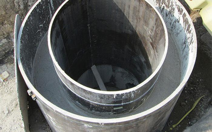 德阳圆柱模板用于圆形水井等支模