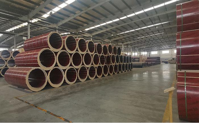 广元木制圆柱模板