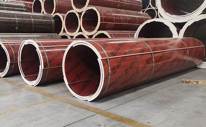 眉山木质圆柱模板