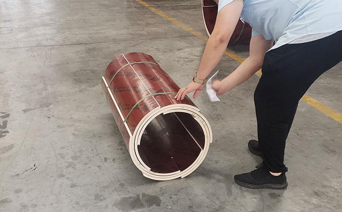 海南木质圆柱定型模板