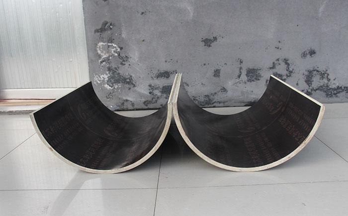 木质圆柱子模板内表面光滑
