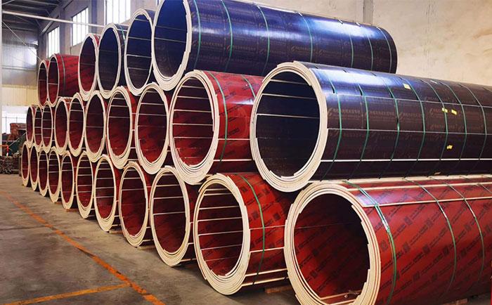广州木质圆柱模板厂家