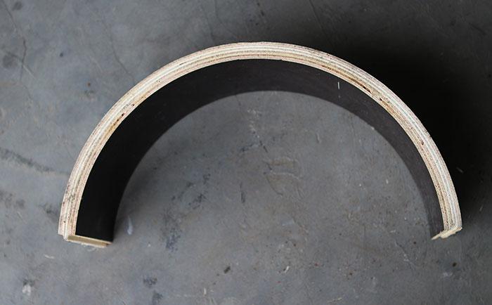 方圆木质圆模板承压强