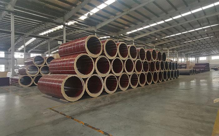 木质建筑圆模板厂家仓储