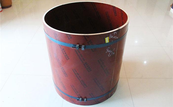 汕尾木质圆柱模板