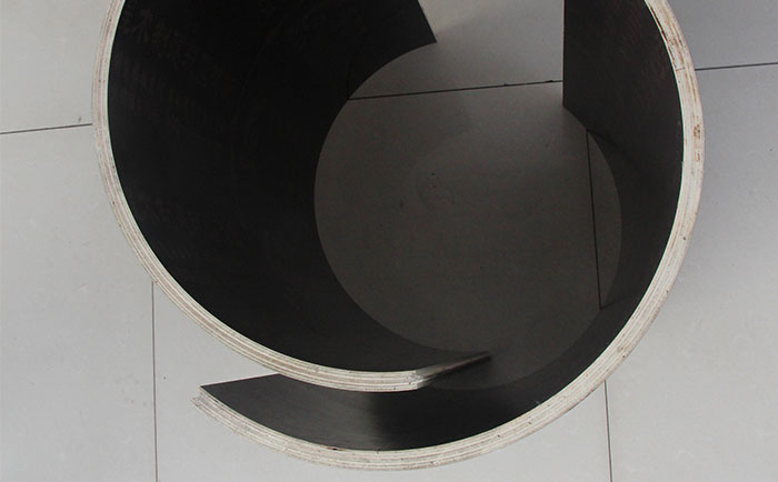 清远木塑圆柱模板