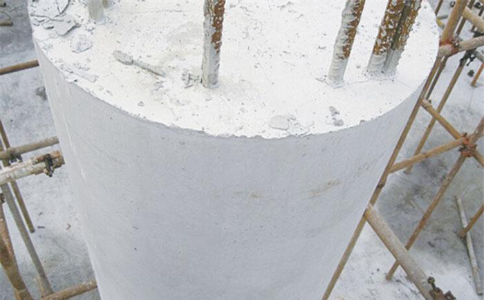 覆塑圆形柱模板脱模清水效果