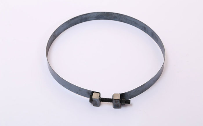螺母式木质圆柱模板加固钢带