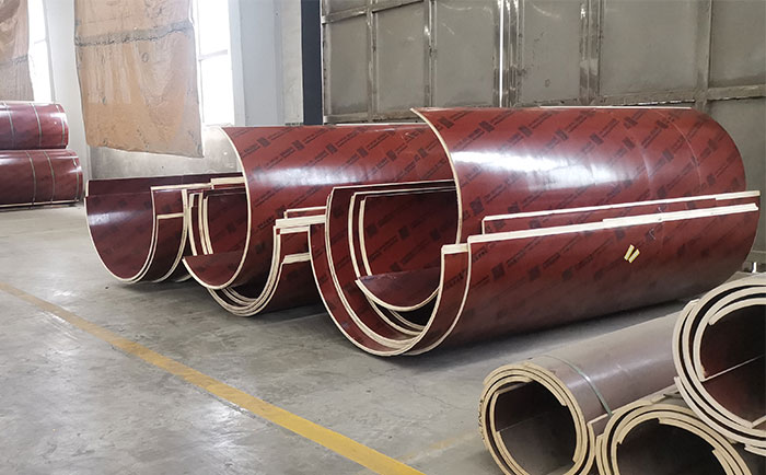 廊坊混凝土圆柱木模板