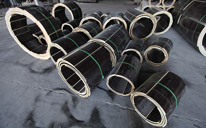 多直径尺寸木质圆柱形模板