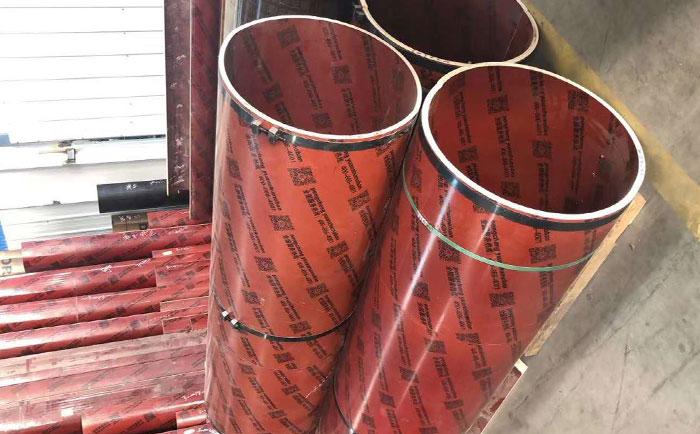 圆形柱定型木模板